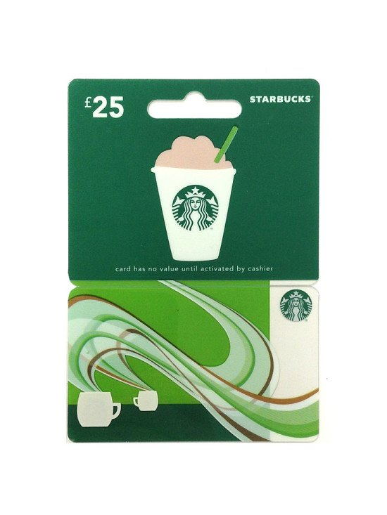 Win a £25 Starbucks Gift Card