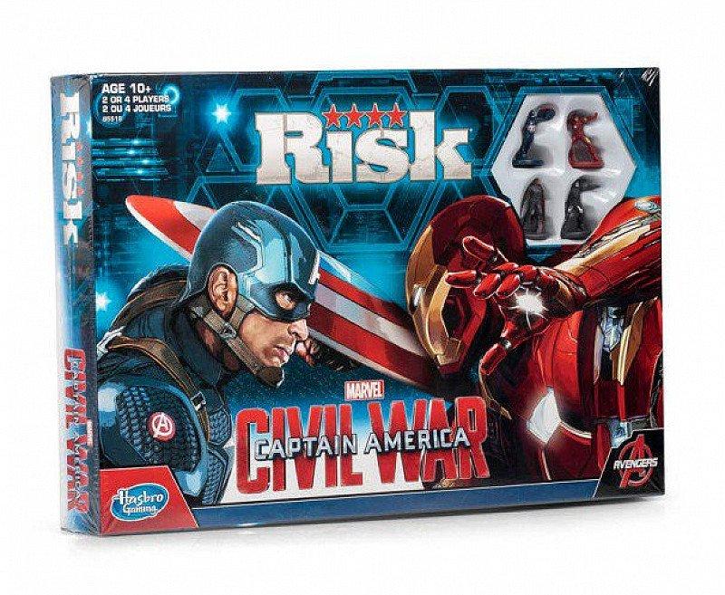 LESS THAN 1/2 PRICE - RISK: CAPTAIN AMERICA CIVIL WAR EDITION!