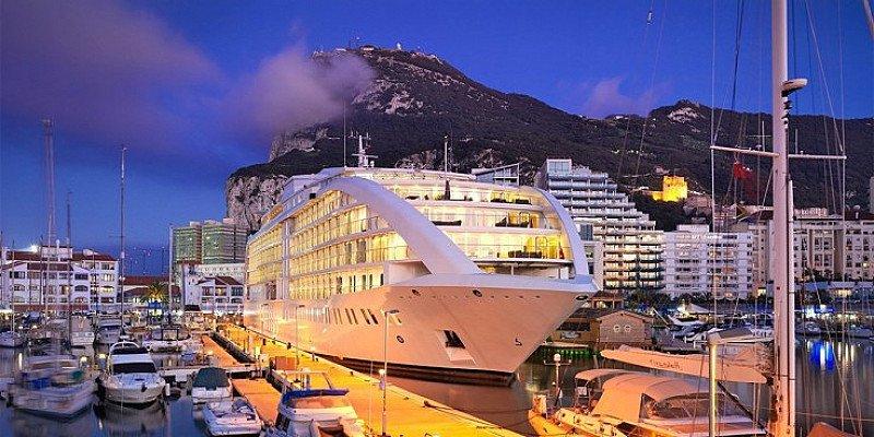 SAVE 41% on this 5-star Gibraltar Superyacht Break with flights!