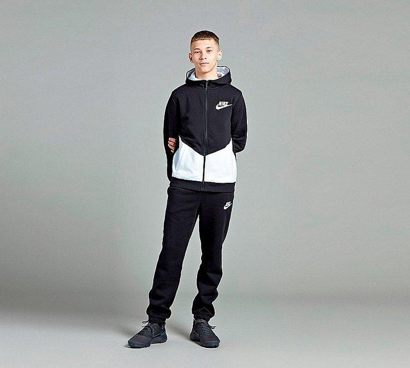 Nike Junior Core Tracksuit in Black