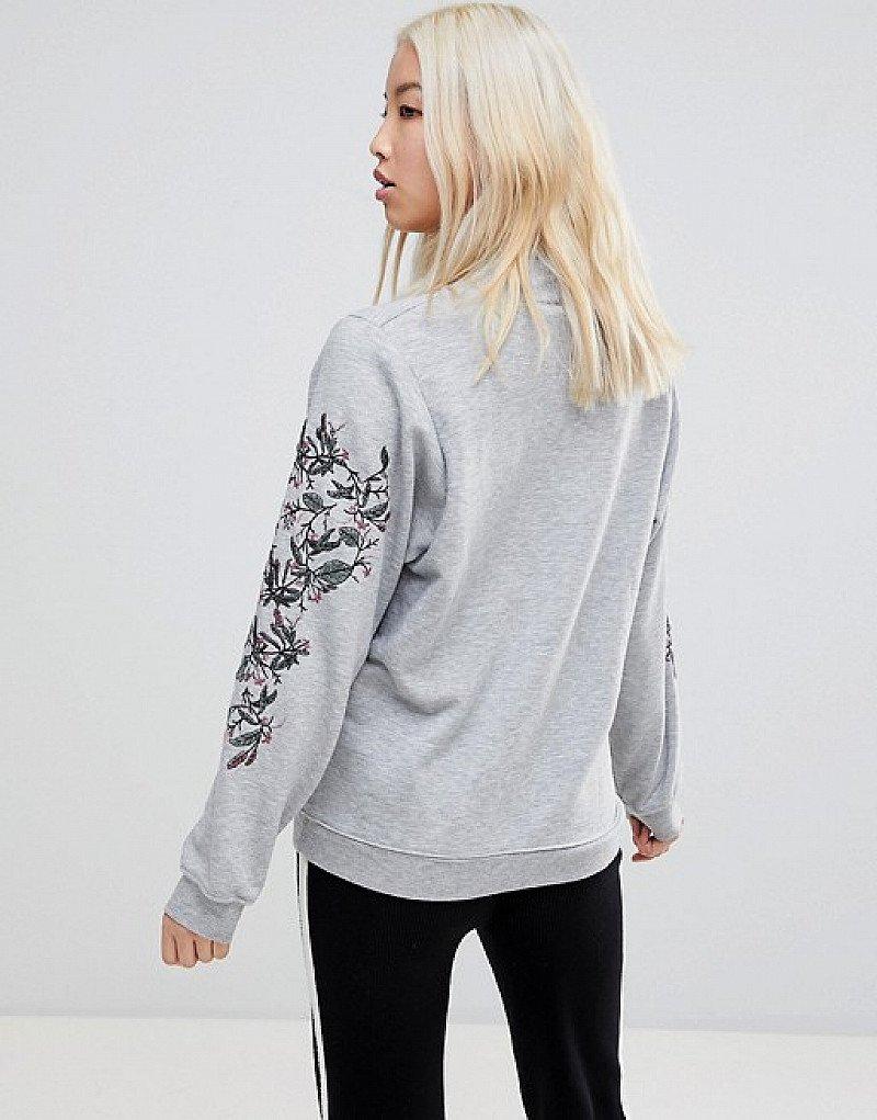 60% OFF this b.Young Printed Sleeve Sweatshirt!