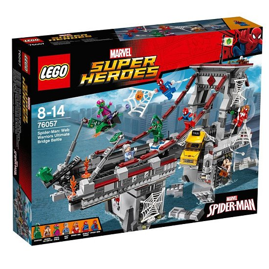 20% OFF - LEGO Marvel Super Heroes Web Warriors Bridge!