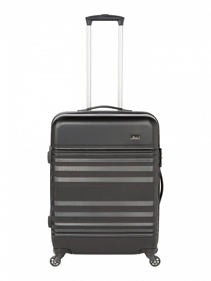 SAVE 70% on this LINEA Weston Black 4 Wheel Hard Medium Suitcase!