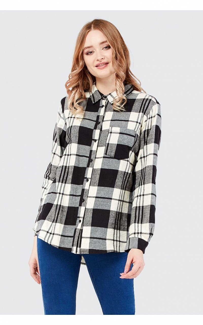 Save 50% on this Oversized Check Shirt