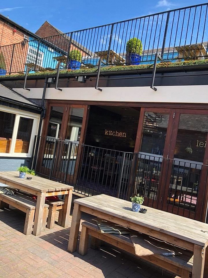 Come and enjoy the sunshine with us this lunch time.