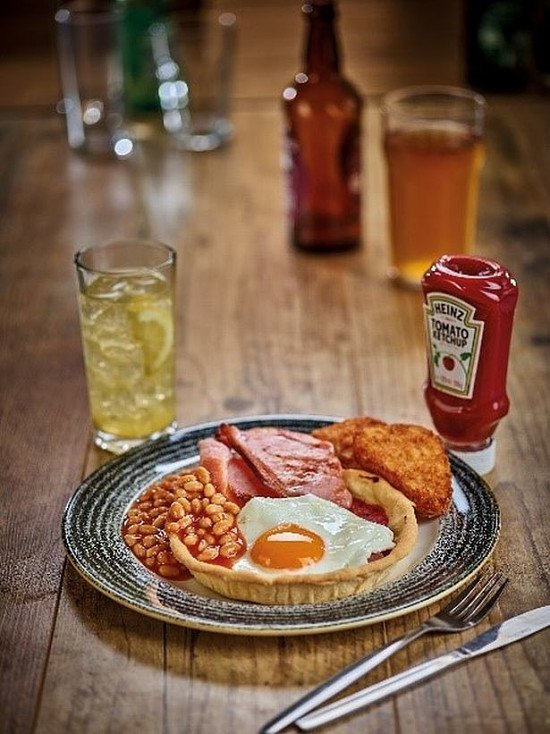 Brekkie served everyday until noon - Including the Traditional Breakfast for just £2.95!