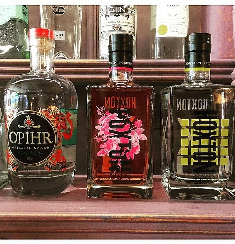 Hoxton Pink has taken up residence on our gin bar just in time for the weekend!