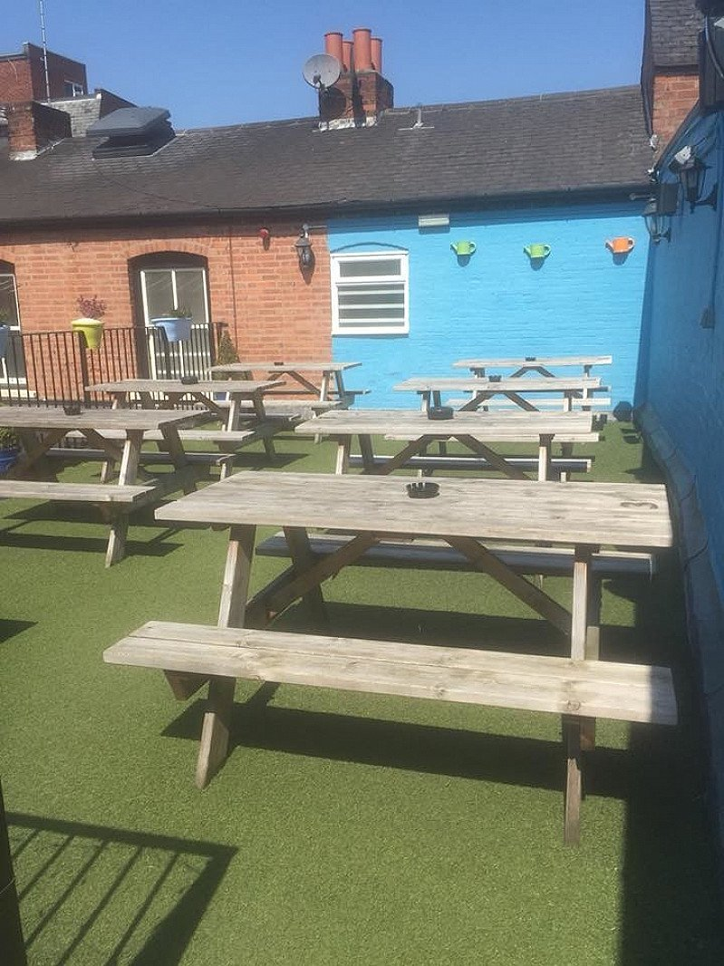 Our roof terrace is ready and waiting for you