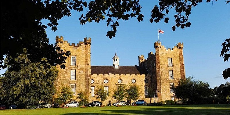 SAVE OVER 1/2 PRICE on 2-night castle stay in County Durham for 2!