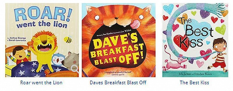 10 Kids Books for only £10!