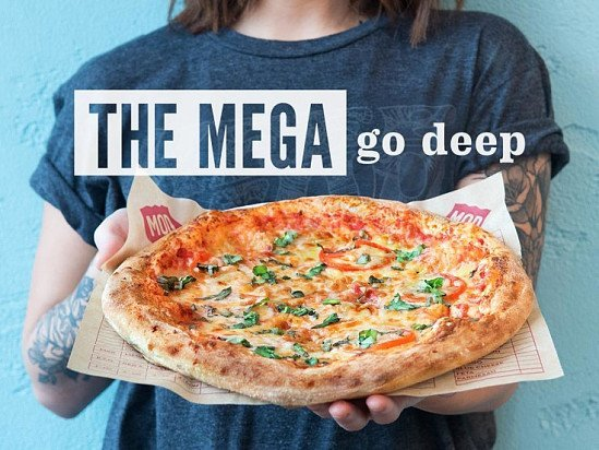 Don't let hungry turn to hangry – get a Mega!