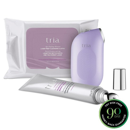 SAVE OVER £190 on the Age-Defying Eye Wrinkle Correcting Laser Deluxe Kit + Get a FREE Cosmetic Bag!
