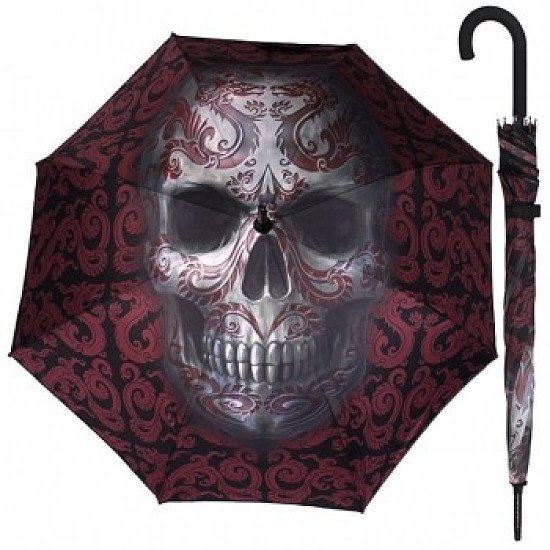 Anne Stokes Oriental Skull Umbrella only £22.99