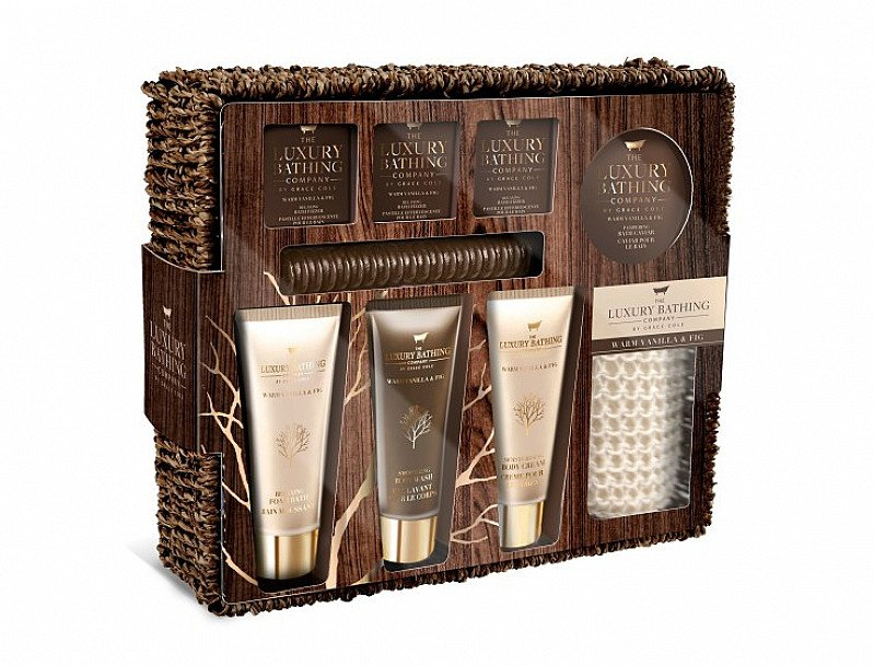 1/2 PRICE - GRACE COLE Warm Vanilla & Fig Ultimate Relaxation Set