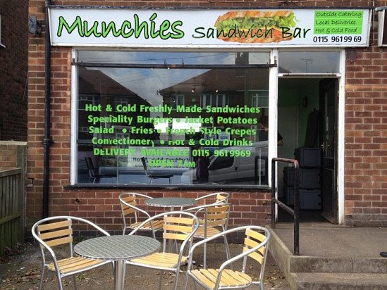 Visit us for freshly made sandwiches, burgers, salads and more!
