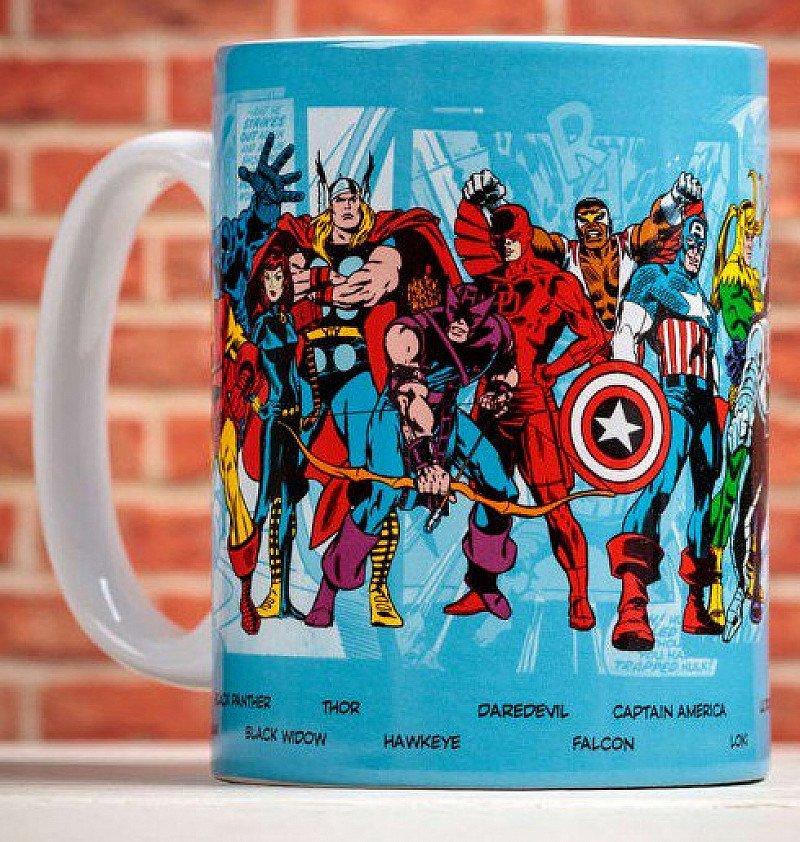 50% OFF Marvel Comics Character Mug!
