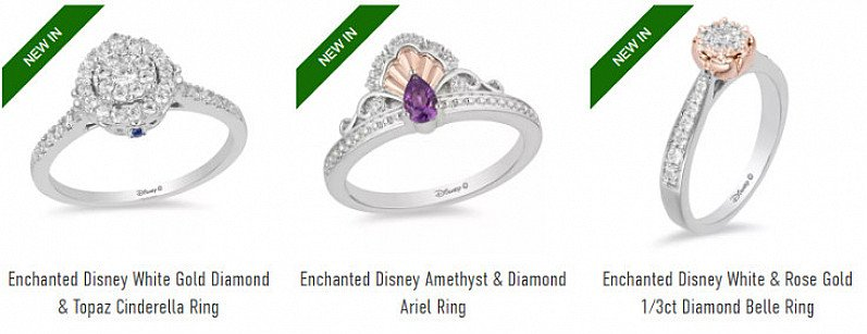 SHOP the Enchanted Disney Fine Jewellery Collection!