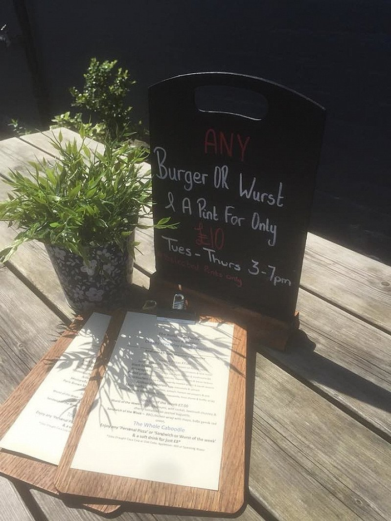 Time for our weekday specials menu serving until 3pm,