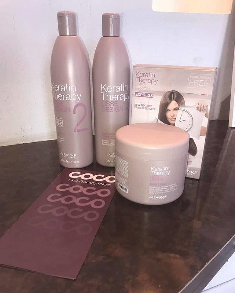 Have you ever tried a Keratin Treatment? Our products offer a silky smooth head!