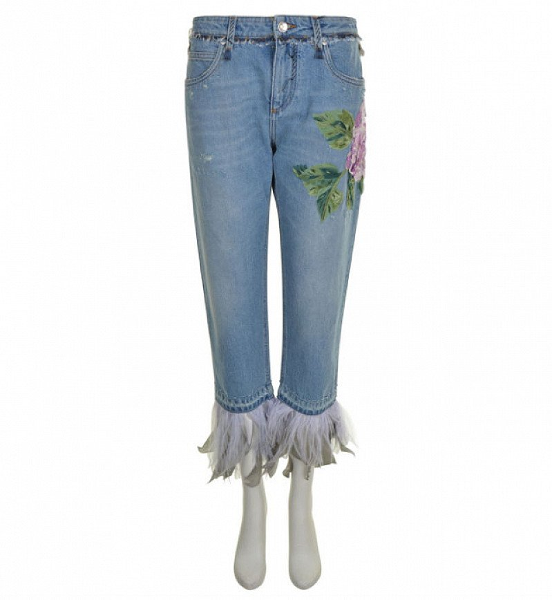 70% OFF - DOLCE AND GABBANA Embroidered Jeans!
