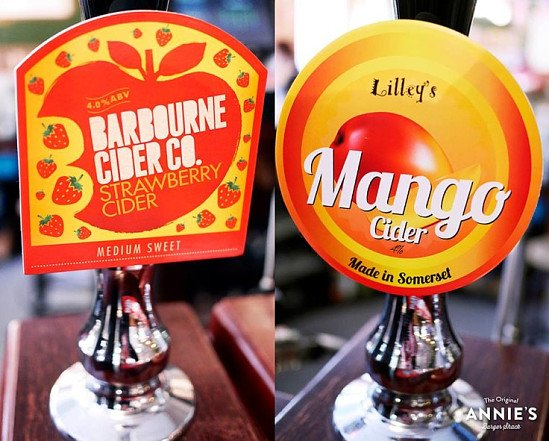 We have got some amazingly refreshing bag-in-box fruit ciders right now!