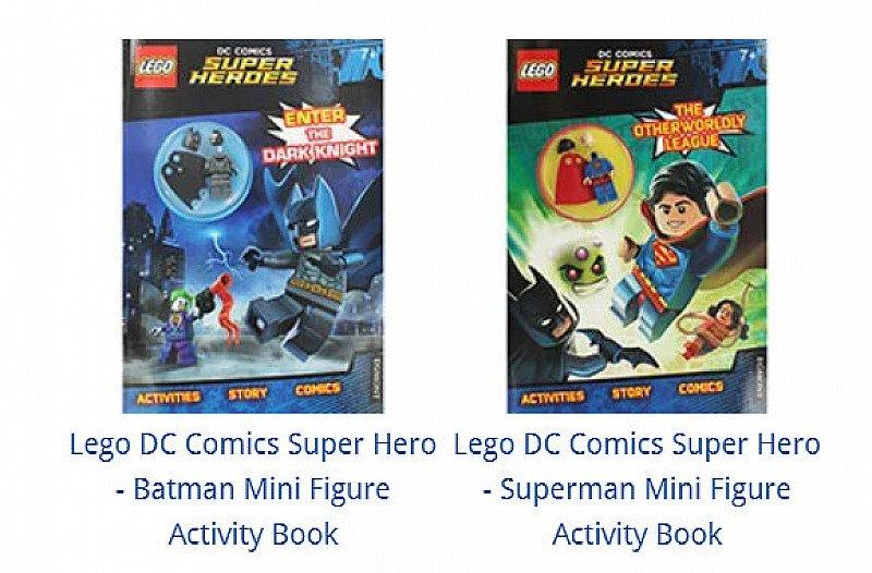 SAVE 64% on these Lego DC Comics Super Hero Activity Books!