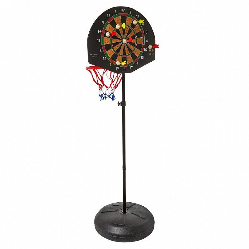 20% OFF - MOOV'NGO AT HAMLEYS 2-in-1 Basketball Dartboard Set!