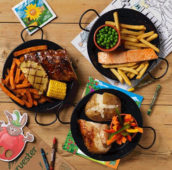 Try our Kids Meal Deal - Main, Drink, Dessert + Unlimited Salad for ONLY £5.99!