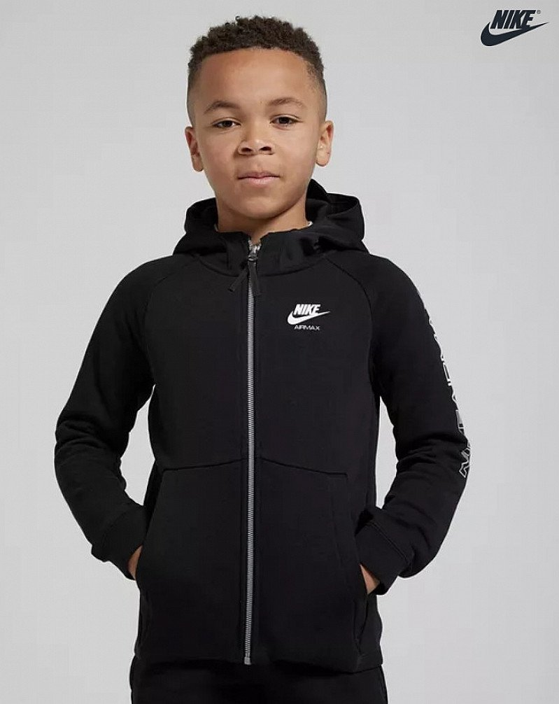 SAVE OVER 35% on this Nike Air Max Full Zip Hoodie Junior!
