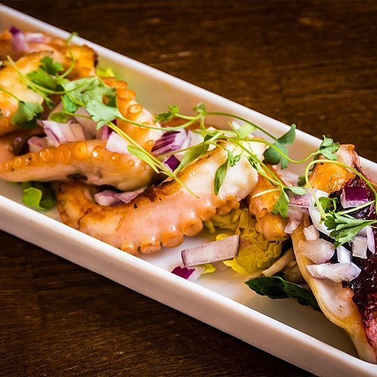 Try something new, like our Grilled Octopus!