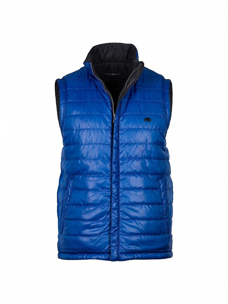 Save 50% off this stunning Reversible Hooded Gilet - Cobalt/Navy!