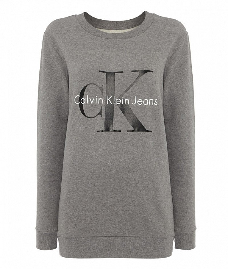 SAVE 50% on CALVIN KLEIN Reissue Crew Neck Logo Sweatshirt!