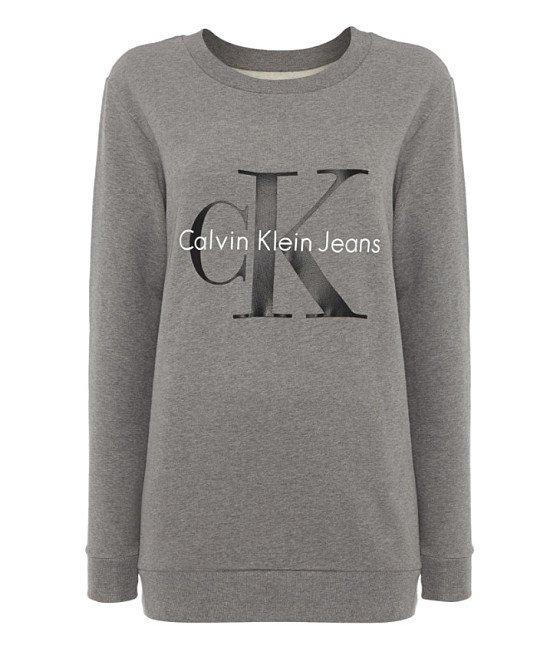 SAVE 50% on CALVIN KLEIN Reissue Crew Neck Logo Sweatshirt!
