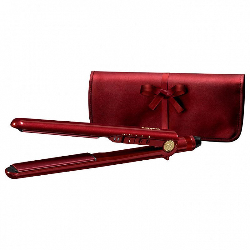 SAVE 50% OFF this BaByliss 2198PU Pro 235 Elegance Straightener, Red