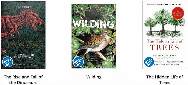 SAVE up to 39% on Natural History Books!