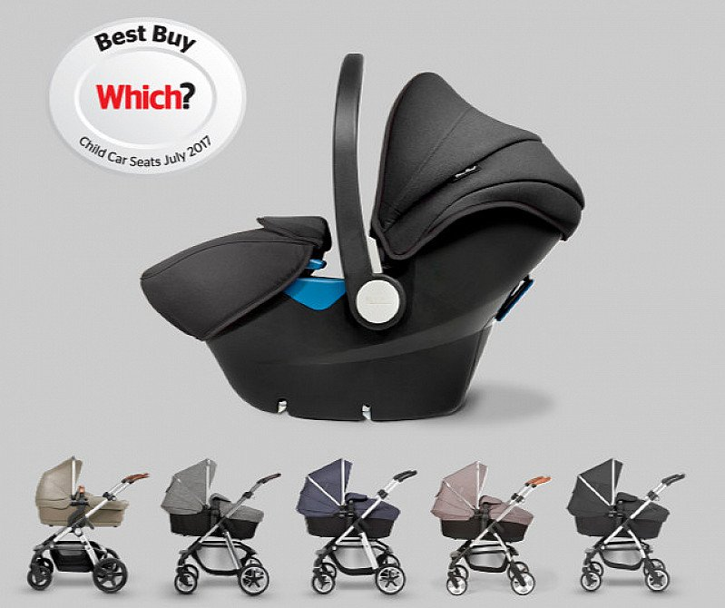 FREE Simplicity Car Seat when you buy a Silver Cross pushchair!