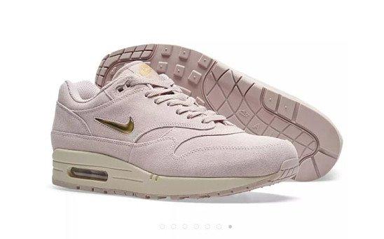 SAVE 40% OFF Nike Air Max 1 Premium SC NIKE Particle Rose & Metallic Gold!