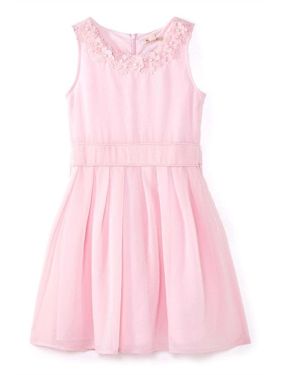 SAVE over 60% OFF this Embellished Flower Party Dress by Yumi Girls!
