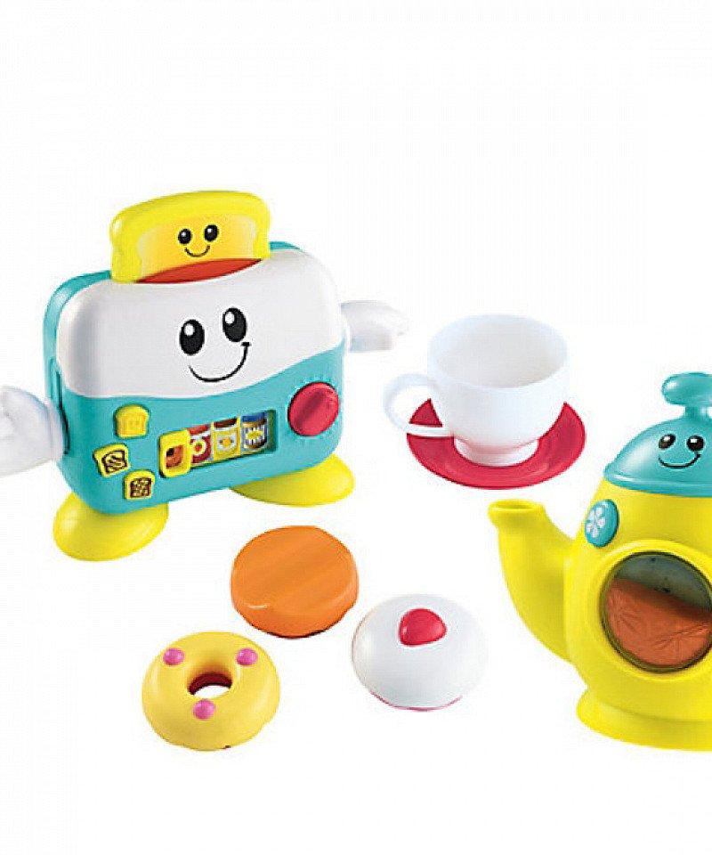 SAVE 50% OFF ELC Tea and Toaster Set!