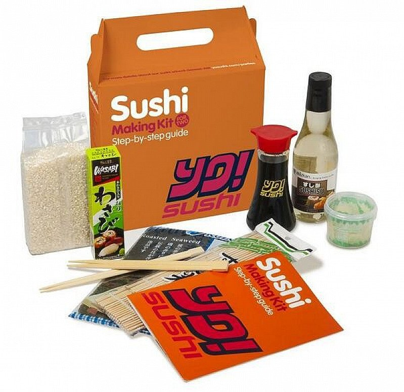 YO IN A BOX - Sushi Making Kit for ONLY £20!