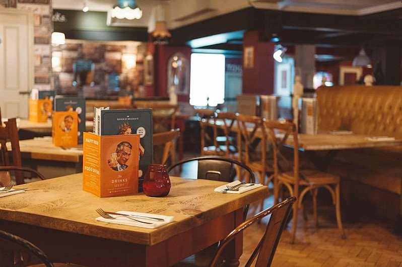 Treat your old man with a Sunday lunch and a free pint of Freedom Lager on Sunday 17th June