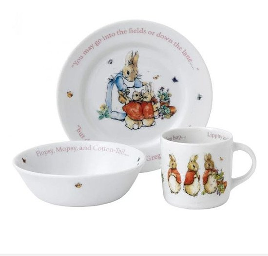 SAVE 50% off Peter Rabbit: 'Flopsy, Mopsy And Cotton-Tail' 3-Piece Set!