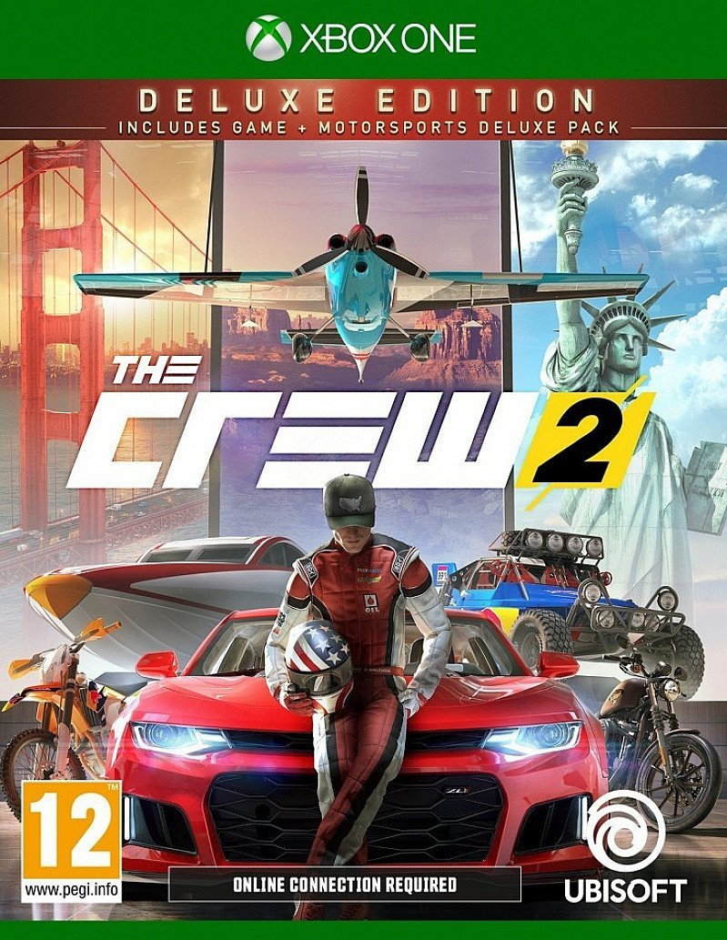 The Crew 2 Deluxe Edition (Game Exclusive) Releases on 29/06/2018 - PREORDER NOW!