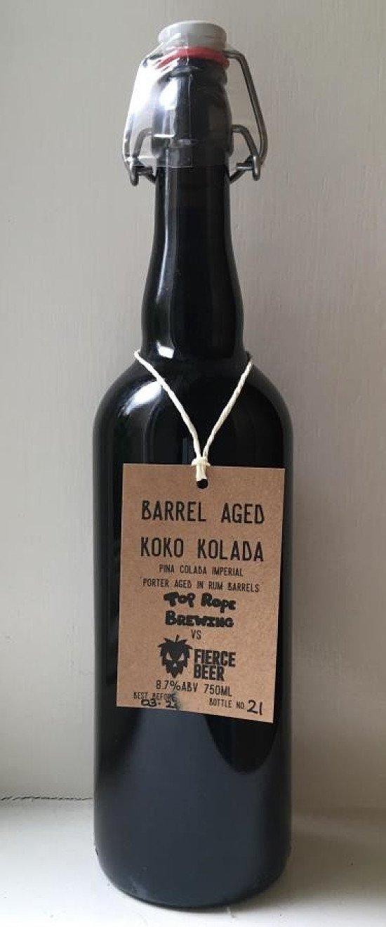 Top Rope / Fierce Beer Koko Kolada