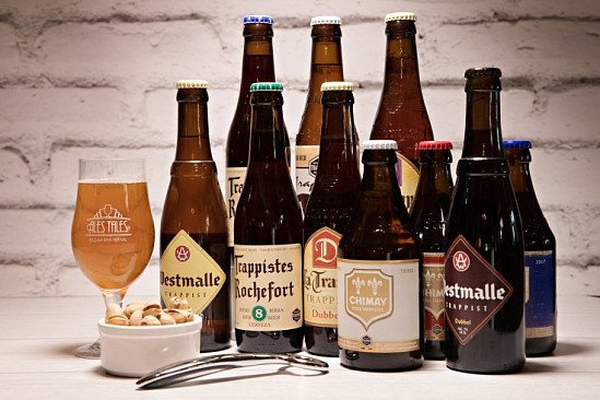 Belgian beer and British craft beer