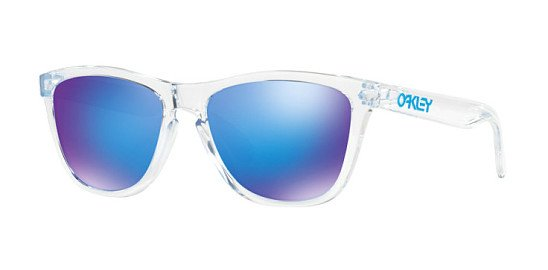 These Oakley Frogskins OO9013-A6 Crystal Clear 55mm Cat Eye glasses are just £80.00!