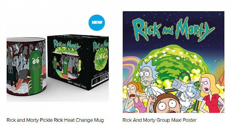 Get Schwifty with up to 30% OFF Rick and Morty Merchandise!