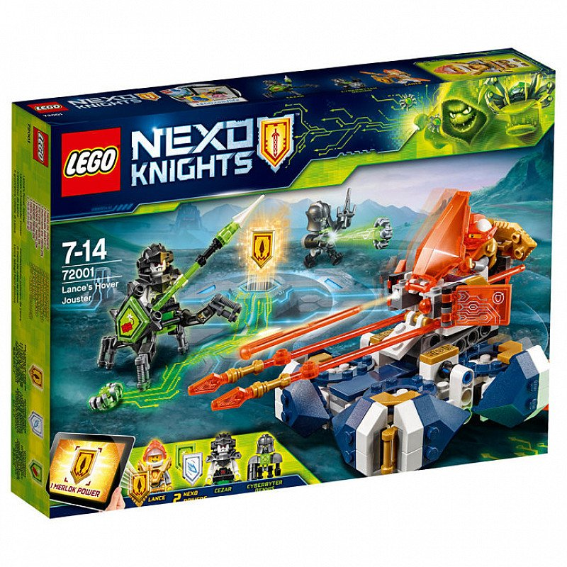 Exclusive to John Lewis & LEGO  LEGO Nexo Knights 72001 Lance's Hover Jouster!