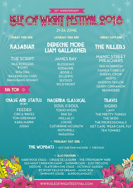 Isle of Wight Festival tickets from £65!