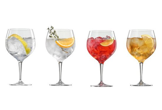 SPIEGELAU Specialist Gin And Tonic Glasses Set Of 4 - SAVE 1/3!